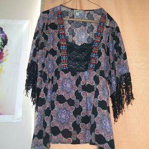 Plus size 1X blouse